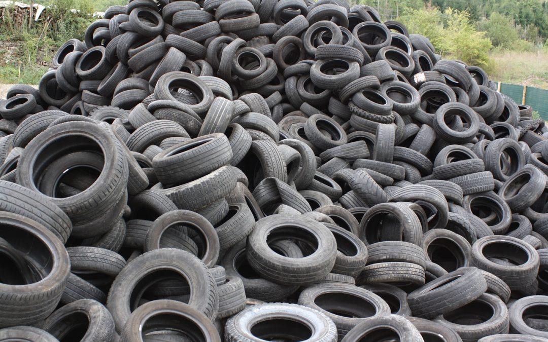 Cambios en el Real Decreto sobre gestión de neumáticos fuera de uso