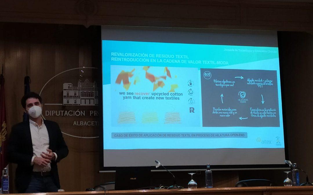 La Economía Circular, a debate en una jornada celebrada en Albacete
