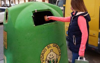 El reciclaje de vidrio permitió recuperar 12,2 kilos por albaceteño en 2020