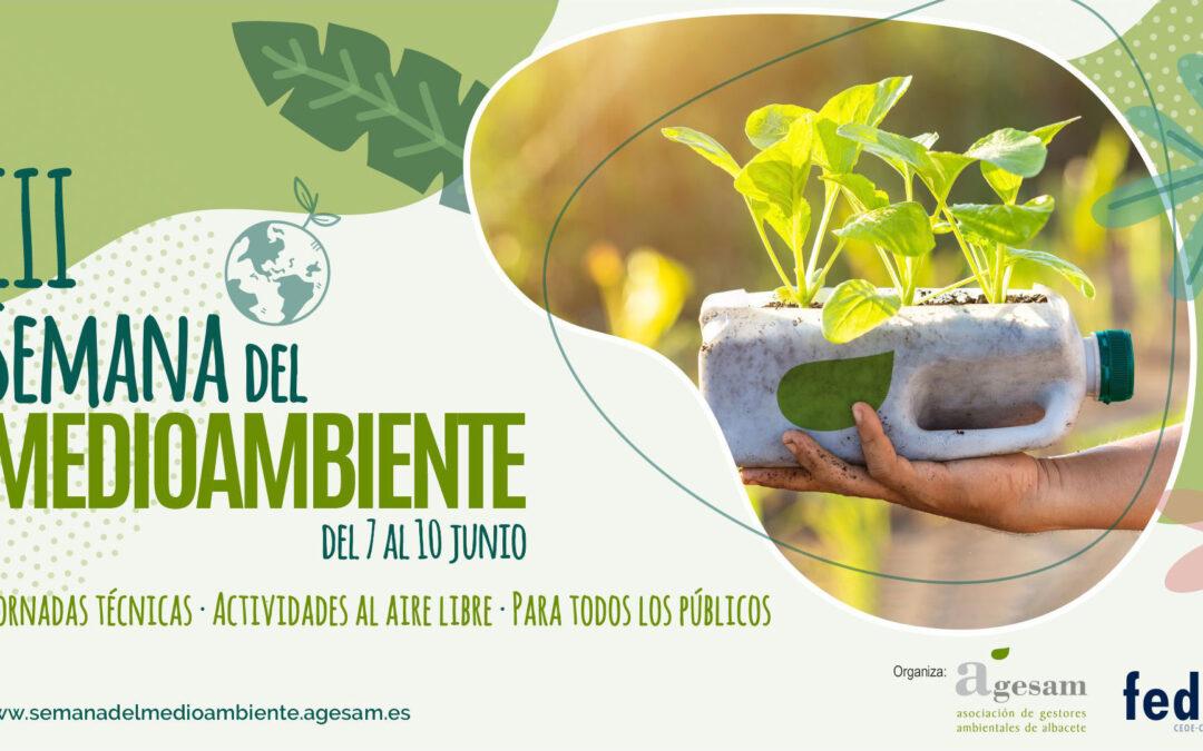 Preparada la III Semana del Medio Ambiente, del 7 al 10 de junio